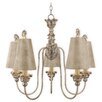 Flambeau Remi 5 Light Candle Chandelier