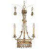 Flambeau Bon Vivant 3 Light Candle Chandelier