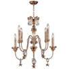 Flambeau Mignon 8 Light Candle Chandelier