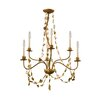 Flambeau Mosaic 6 Light Candle Chandelier