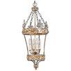 Flambeau Crown 4 Light Outdoor Hanging Lantern