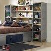 Hillsdale Furniture Universal Youth Platform 3 Piece Bedroom Shelf Set