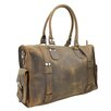 "Vagabond Traveler 18"" Leather Travel Duffel"