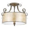 Quoizel Kendra Semi-Flush Ceiling Light