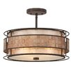 Quoizel Laguna 3 Light Semi-Flush Ceiling Light