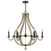Hinkley Middlefield 6 Light Candle Chandelier