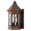 Hinkley Brighton 3 Light Outdoor Wall Lantern