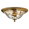 Hinkley Cambridge 2 Light Flush Mount