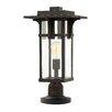 Hinkley Manhattan 1 Light 49cm Post Lantern Set