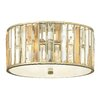 Hinkley Gemma 3 Light Flush Ceiling Light