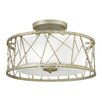 Hinkley Nest 3 Light Semi-Flush Ceiling Light