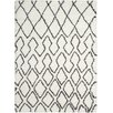 Calvin Klein Home Rug Collection Riad Ivory/Black Area Rug