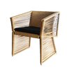 100 Essentials Borneo Dining Arm Chair with Cushion