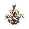 Feiss Sonoma Valley 12 Light Chandelier