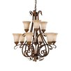 Feiss Sonoma Valley 9 Light Chandelier