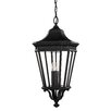 Feiss Cotswold Lane Flush Ceiling Mount 3 Light Hanging Lantern