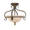 Feiss Sonoma Valley 3 Light Semi-Flush Ceiling Light