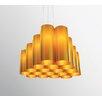Dix Heure Dix Tubes 18 Light Cluster Pendant