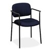 Basyx by HON Stackable Guest Chair with Arms