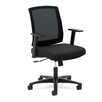 Basyx by HON HVL511 Series Mid-Back Mesh Task Chair with Arms