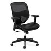 Basyx by HON VL534 High-Back Mesh Task Chair with Arms