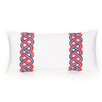 Trina Turk Residential Coastline Ikat Decorative Cotton Lumbar Pillow