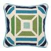 Trina Turk Residential Novato Needlepoint Throw Pillow