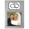 """Malden 3"""" x 3"""" Double Ring Charm Picture Frame"""