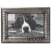 "Malden 4"" x 6"" Woof Modern Words Picture Frame"