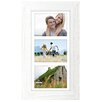 Malden Rough White Manhat Picture Frame