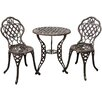 Innova Hearth and Home Cambridge 3 Piece Bistro Set