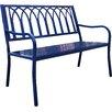 Innova Hearth and Home Lakeside Steel Garden Bench