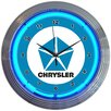 "Neonetics 15"" Chrysler Pentastar Neon Clock"