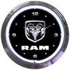 "Neonetics 15"" RAM Neon Clock"