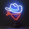 Neonetics Cowboy Neon Sculpture