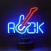 Neonetics Business Signs Rock Guitar Neon Sign