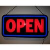 Neonetics Open Bold Rectangle LED Sign