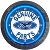 "Neonetics 15"" Ford Genuine Parts Wall Clock"