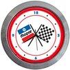 "Neonetics 15"" Mopar Checkered Flag Wall Clock"