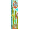 Green Leaf Art Fish, Sea Star, and Crab on Bubbles Growth Chart