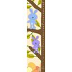 Green Leaf Art Bunnies on Tree Growth Chart