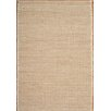 Husain International Loft Hand-Woven Ivory/Beige Area Rug