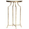Prima Round Mirrored End Table