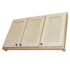 """WG Wood Products Shaker Series 43.25"""" x 25.5"""" Wall Mounted Linen Tower"""