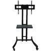 Rocelco Basic A/V Mobile TV Stand with Shelf
