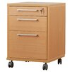 Tvilum Pierce 3 Drawer Mobile Filing Cabinet