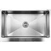 "Ukinox 33"" x 21"" Apron Front Single Bowl Stainless Steel Kitchen Sink"