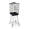 Prevue Hendryx Crown Roof Parakeet Cage with Stand