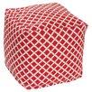 OC Fun Saks Bamboo Bean Bag Cube Ottoman