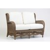 South Sea Rattan Riviera Loveseat with Cushion